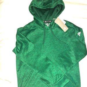 NWT Adidas Green Clinawarm Hoodie